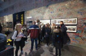 Ausstellung Vor Dem Mauerpanorama